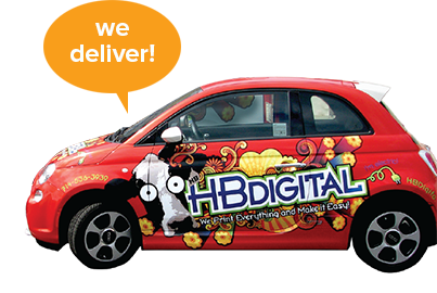 Image of HB Digital Car Wrap